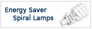 Energy Saver Spiral Lamps